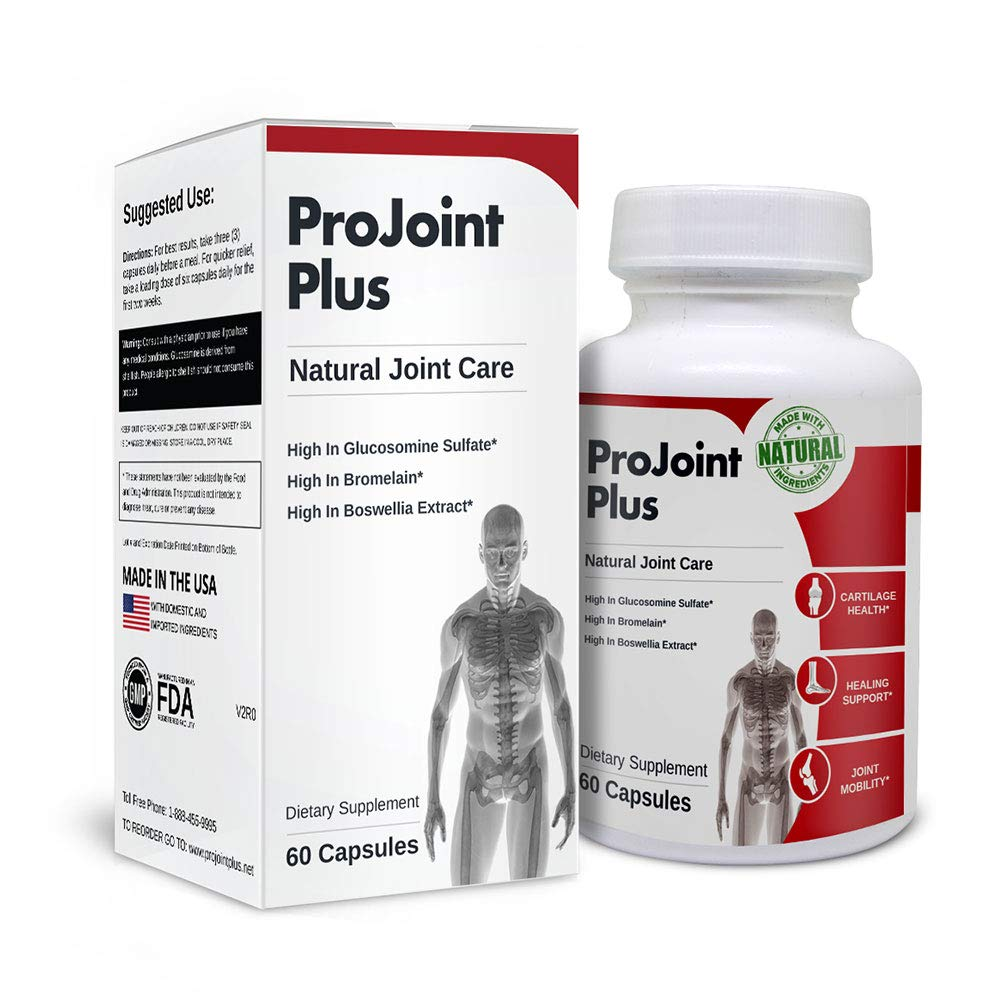 ProJoint Plus | Support Joint Health, Cartilage Health and Joint Mobility. 60 Capsules.