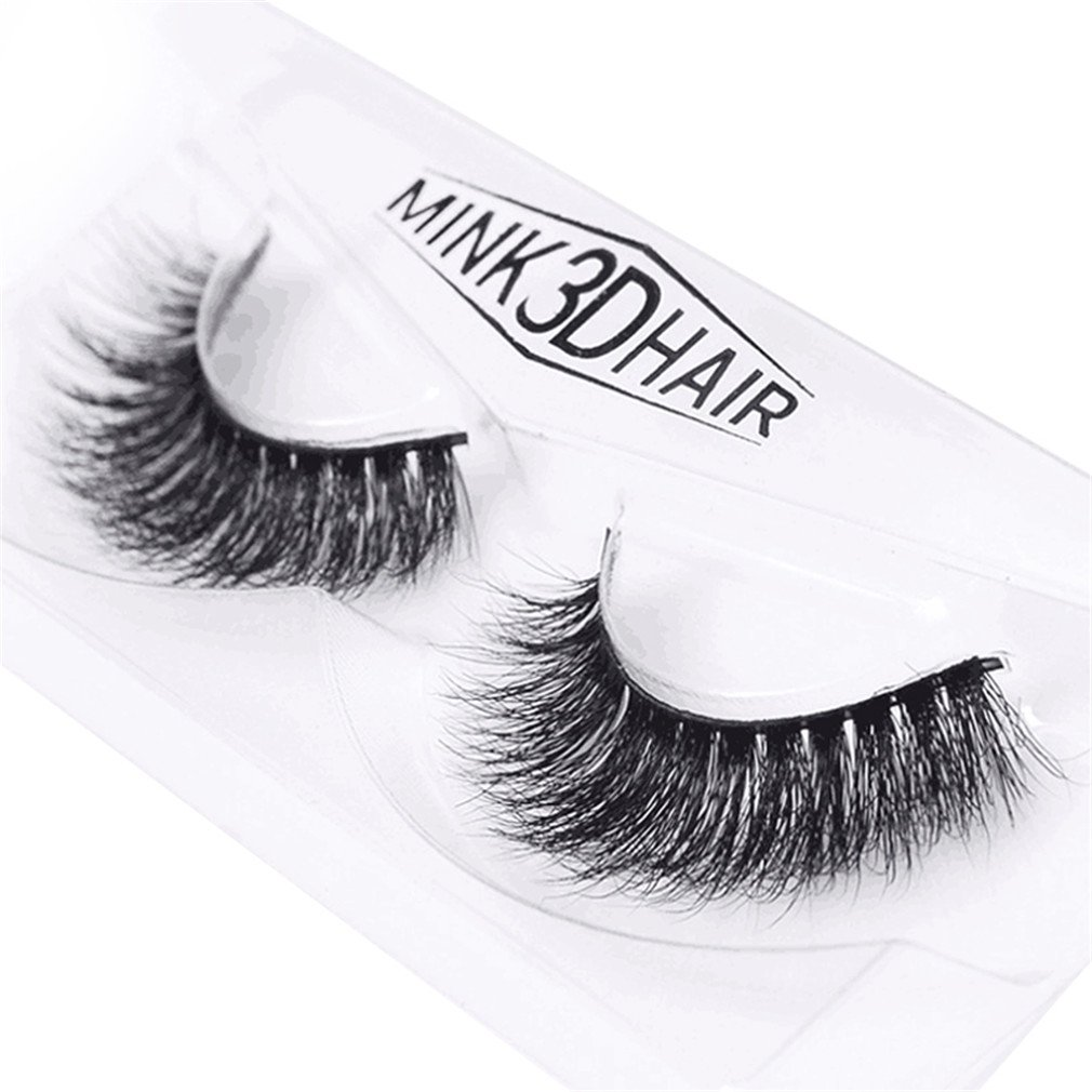 ed6c2526bfc HENGSONG 3D Artificial Hair False Eyelashes Natural Thick Eye Lashes Makeup  Extension (G) product