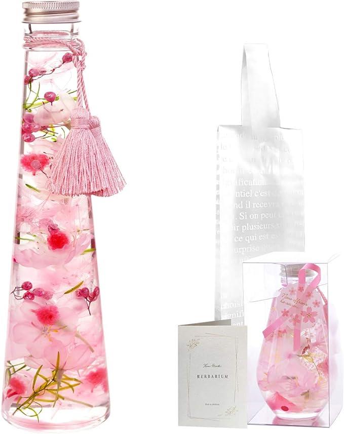 花まりか 桜 ハーバリウム