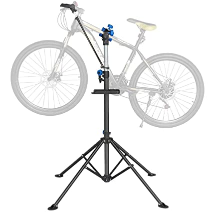 50c9515790a Image Unavailable. Image not available for. Color  Yaheetech Pro Mechanic  Bicycle Repair Workshop Stand Maintenance Rack ...