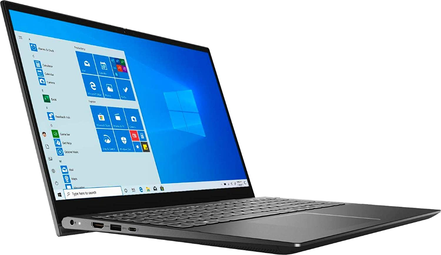 Dell Inspiron 7506-BLK Home and Business Laptop-2-in-1 (Intel i7-1165G7 4-Core, 16GB RAM, 1TB SSD, Intel Iris Xe MAX, 15.6