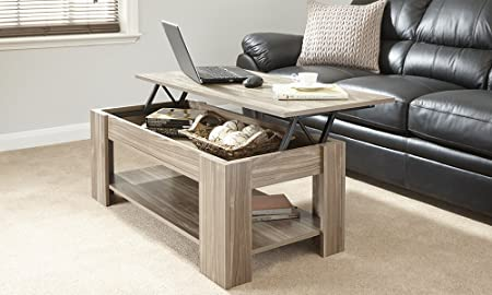 MODERN CONTEMPORARY EXCLUSIVE WALNUT LIFT UP COFFEE TABLE LIVING ROOM  CENTRE TABLE LARGE STORAGE AREA U0026