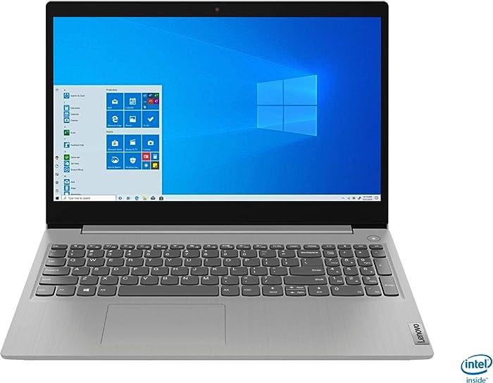 "2020 Lenovo IdeaPad 3 15"" HD Touch Screen Laptop, Intel 10th Gen Dual-Core i5-1035G1 CPU, 12GB DDR4 RAM, 256GB PCI-e SSD, Webcam, WiFi 5, Bluetooth, Windows 10 S Platinum Grey"