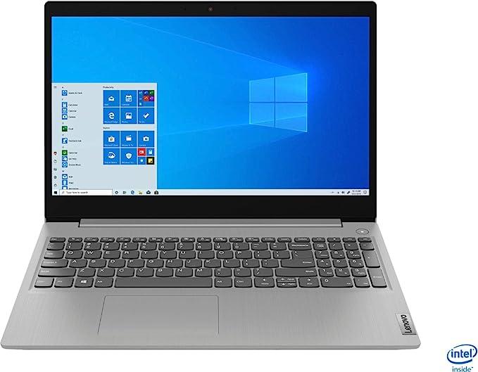 "2020 Lenovo IdeaPad 3 15"" HD Touch Screen Laptop, Intel 10th Gen Dual-Core i5-1035G1 CPU, 12GB DDR4 RAM, 256GB PCI-e SSD, Webcam, WiFi 5, Bluetooth, Windows 10 S Platinum Grey | Amazon"