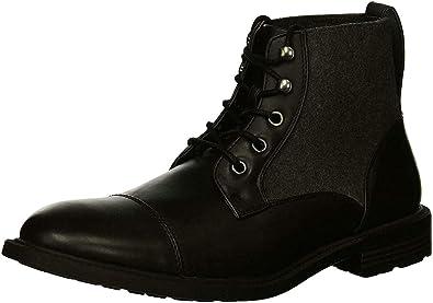Fashion Black/Grey Boot Mens Size 7.5M
