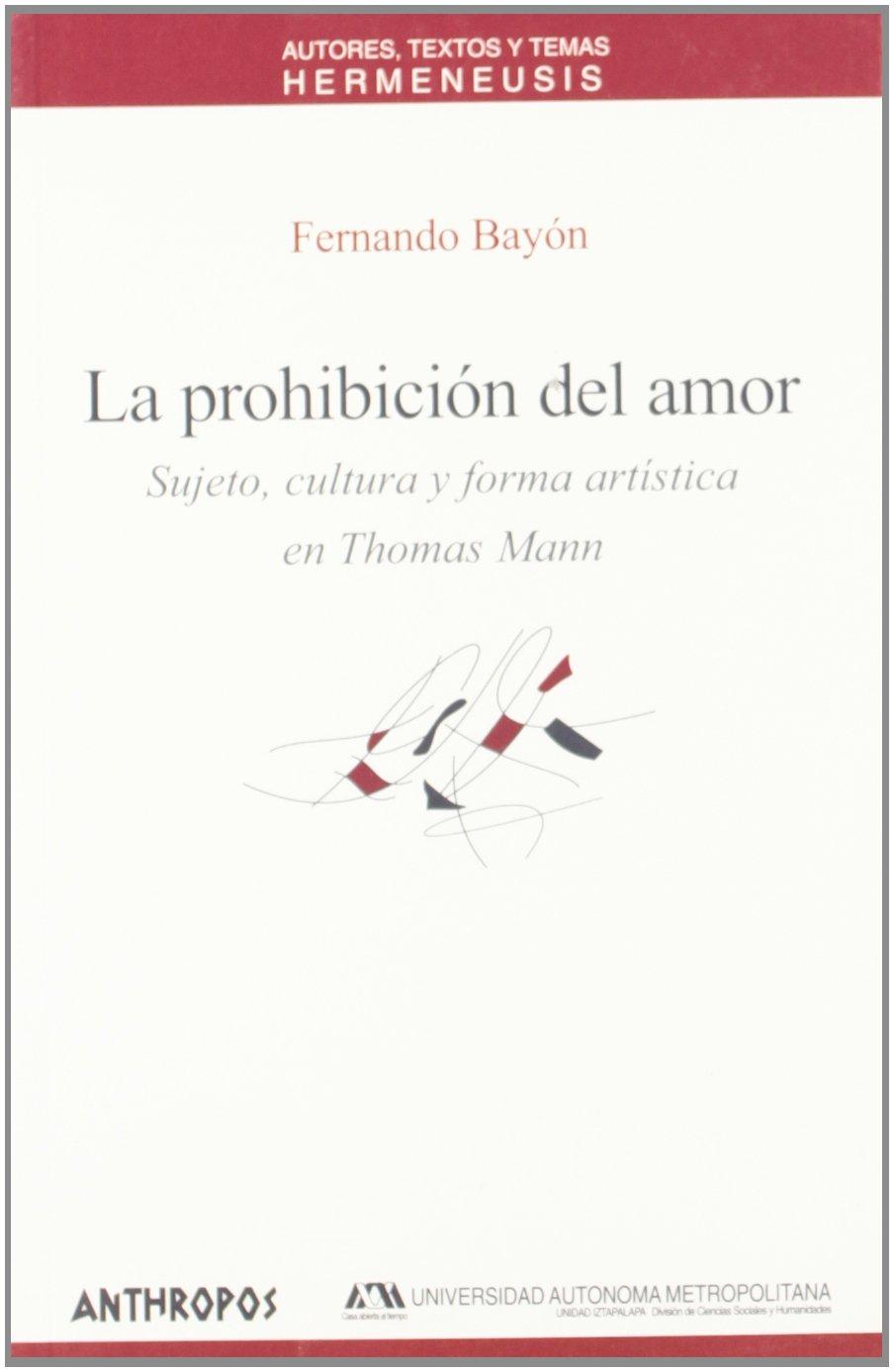 PROHIBICION DEL AMOR, LA (Spanish Edition): Fernando Bayon: 9788476587010: Amazon.com: Books
