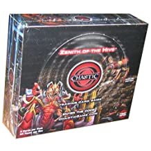 Chaotic Card Game Booster Box Zenith of the Hive 24 packs of 9 cards [Toy]