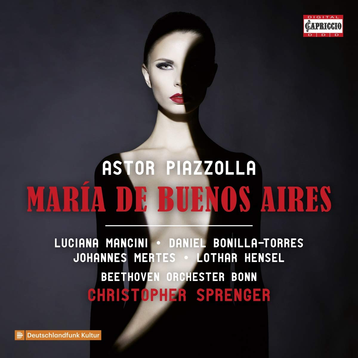 CD : DANIEL BONILLA TORRES - LUCIANA MANCINI - JOHANNES MERTES - LOTHAT HENSER - Maria De Buenos Aires (2 Pack)