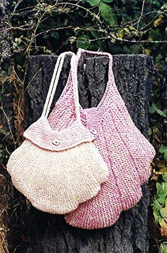 Scallop Funda tipo monedero y bolsa de tejer - avena Couture ...