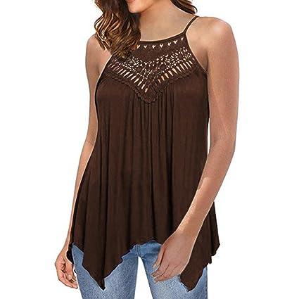 Tops Damen Bluse Kurzshirt Neckholder Chiffon Pullover Sexy Schulterfrei Shirts Casual Hemd Sommer Top T-Shirt Frauen Obertei