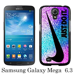Samsung Galaxy Mega 6.3 I9200 Case ,Hot Sale And Popular Designed Samsung Galaxy Mega 6.3 I9200 Case With Nlke Just do it 49 Black Hight Quality Cover