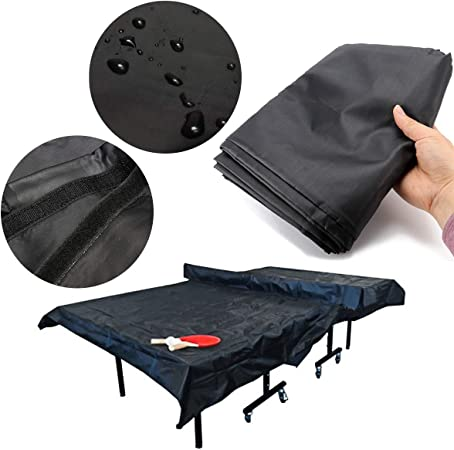 Amazon Com Essort Outdoor Ping Pong Table Cover 210d Durable