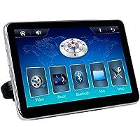 Tela De Encosto De Cabeça Acoplável, H-Tech, Et800, Tela De Vídeo Automotiva Para Encosto De Cabeça