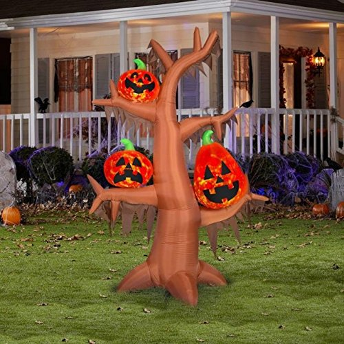 Gemmy Projection Air Blown Scary Tree Kaleidoscope Inflatable (Trees Gemmy Christmas)