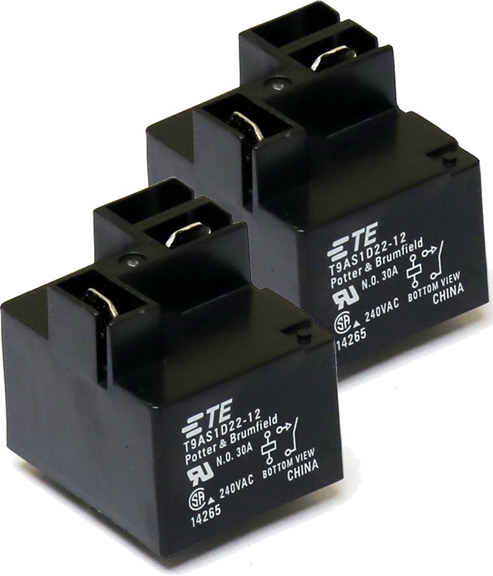 PC BOARD 1 piece 30A TE CONNECTIVITY // POTTER /& BRUMFIELD T9AS1D22-24 POWER RELAY SPST-NO 24VDC