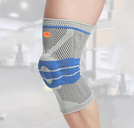 aa7d402474 LLN Knee Brace Support Compression Sleeves Knee Protectors (1Pair) For Joint  Pain,Relief Arthritis,Meniscus,Tear,Sports And Injury Recovery Circulation  ...