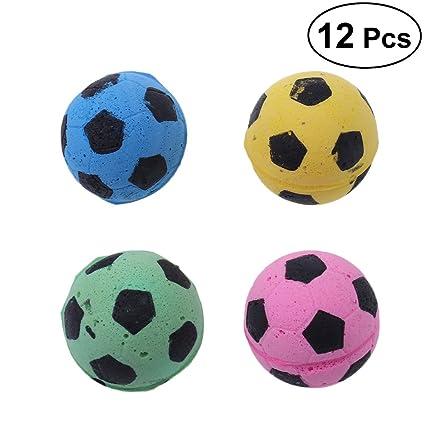 1223fc3af3 POPETPOP Bola de Fútbol de Esponja del Juguete del Gato Juguetes  Interactivos Gatito Gato Bolas de