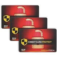 3 x Tarjetas de Bloqueo DreamTECH RFID &