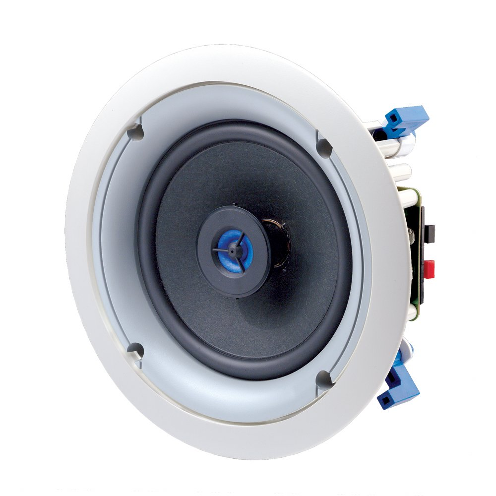 "Leviton 6.5"" IN-CEILING SPEAKER PAIR 60W @ 8OHM LEVITON SPEC GRADE SOUND"