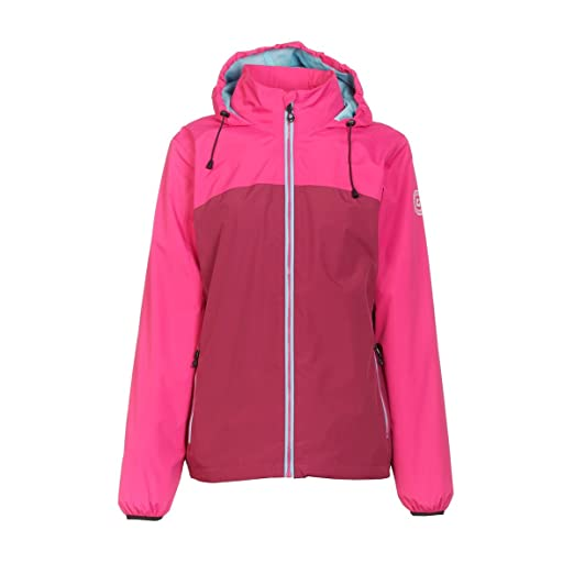 new product choose genuine latest trends Killtec Women's Siema Packable Rain Jacket Pink at Amazon ...
