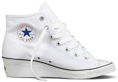 b7c0b775421b6 Converse Chucks Taylor CT HI-Ness mit Keilabsatz. Topaktuelles Modell.  White. Ein