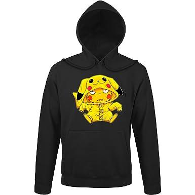 Une Pokémon De Capuche Pikachu Okiwoki Sweats Parodique Drôle À qYnwBAt