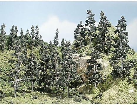 Bosque de pinos árbol de metal 2 – 4 cm Woodland Scenics: Amazon.es: Juguetes y juegos