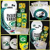 Premium Team/Logo Lawn dice, Yardzee, Farkle Hand made 3.5 '' dice Set of 8