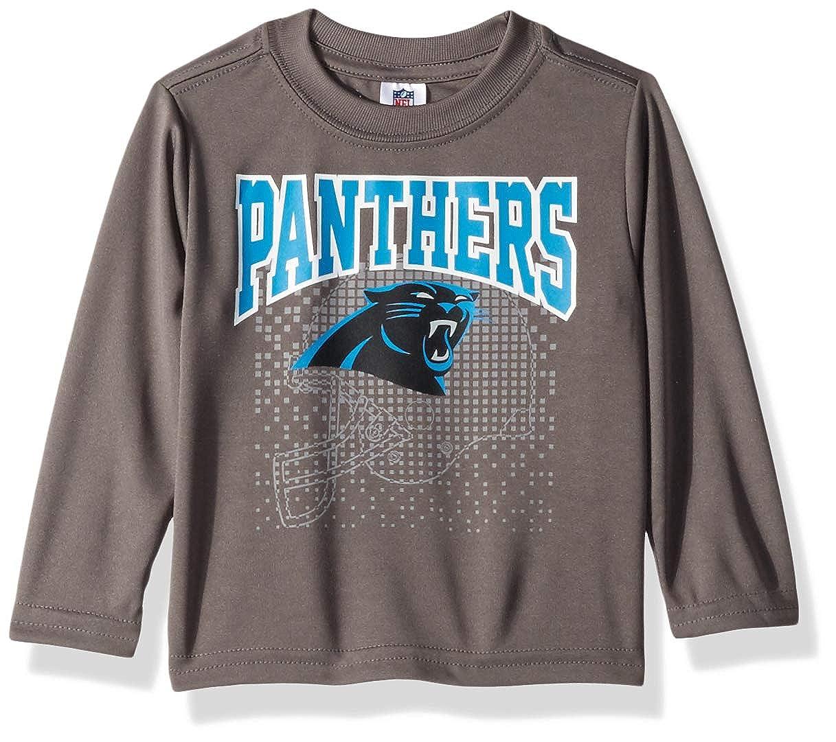 ac32fb75 Amazon.com : NFL Carolina Panthers Unisex-Baby Long-Sleeve Tee, Gray ...