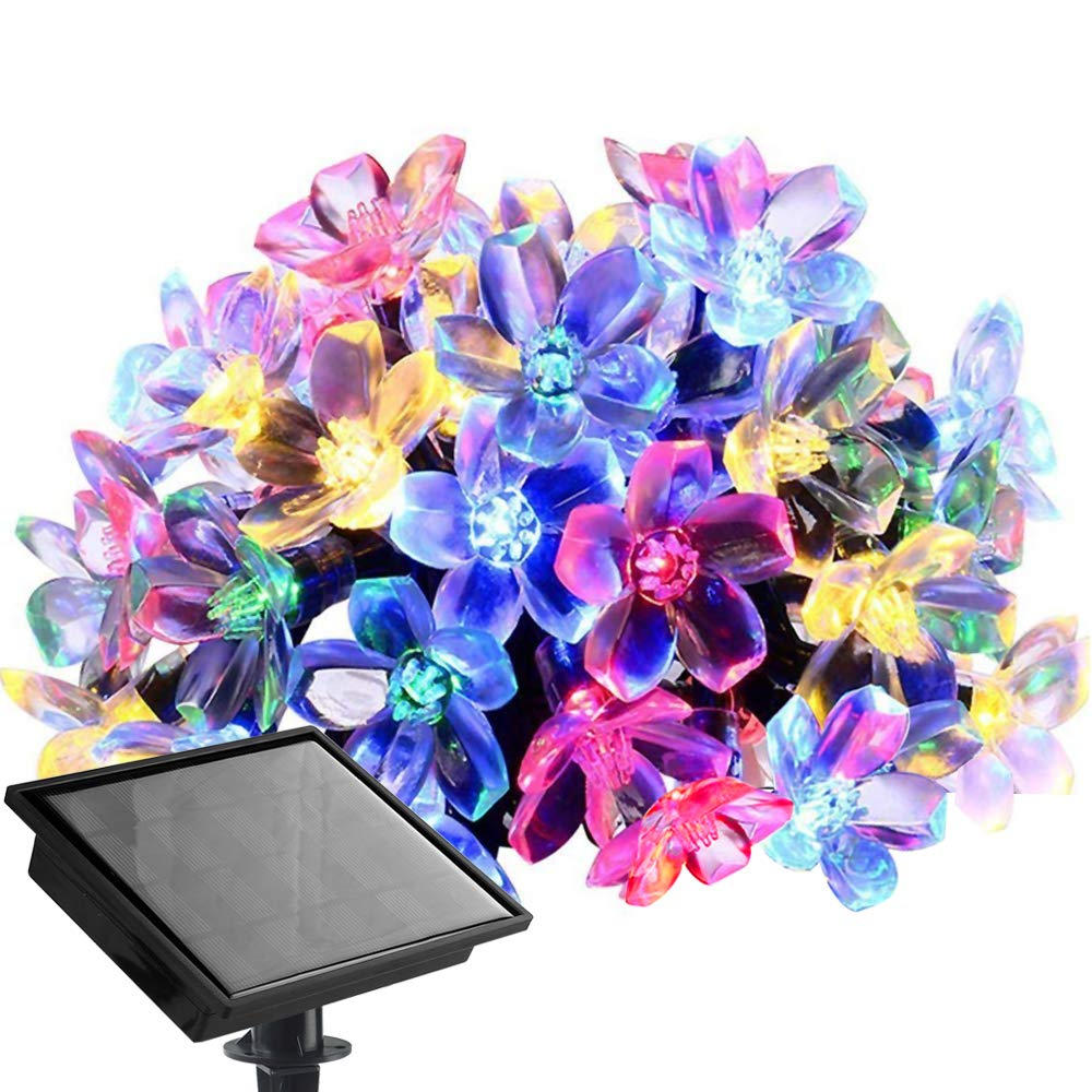 8 Modes//Waterproof // USB Charge. Patio Wedding PMS Sloar String Lights 42ft 100 LED Warm White Outdoor Fairy Lights for Garden Party and Outdoor Decoration Christmas