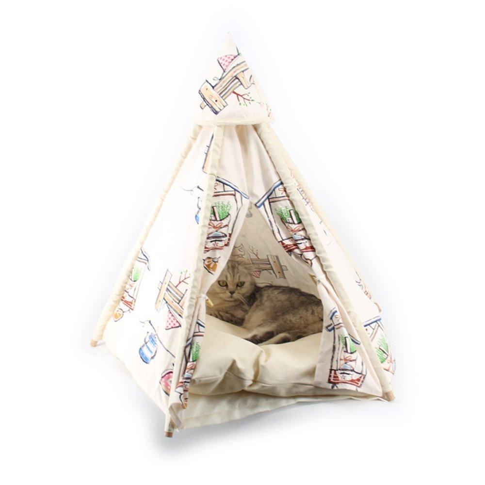 prodotto di qualità CCJW Quattro Stagioni Universale canile Campeggio Campeggio Campeggio Pieghevole Tenda Cane Dog Dog Bed (Dimensioni   S 72  45cm)  migliore marca