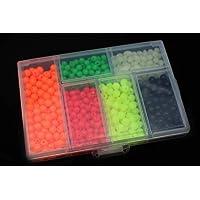850pcs/caja aparejos de pesca señuelo cebo flotante
