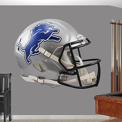 219e687b Amazon.com: Detroit Lions Helmet sticker, Detroit Lions Helmet decal ...