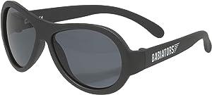Babiators Aviator UV Protection Children's Sunglasses, Black Ops Black, 0-2 Years
