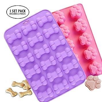 Molde de silicona para cubitos de hielo antiadherente de grado alimenticio, gelatina, galletas, chocolate, dulces, molde para cupcakes, ...