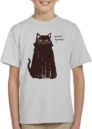 Cloud City 7 Kneel Human Cat Kid's T-Shirt