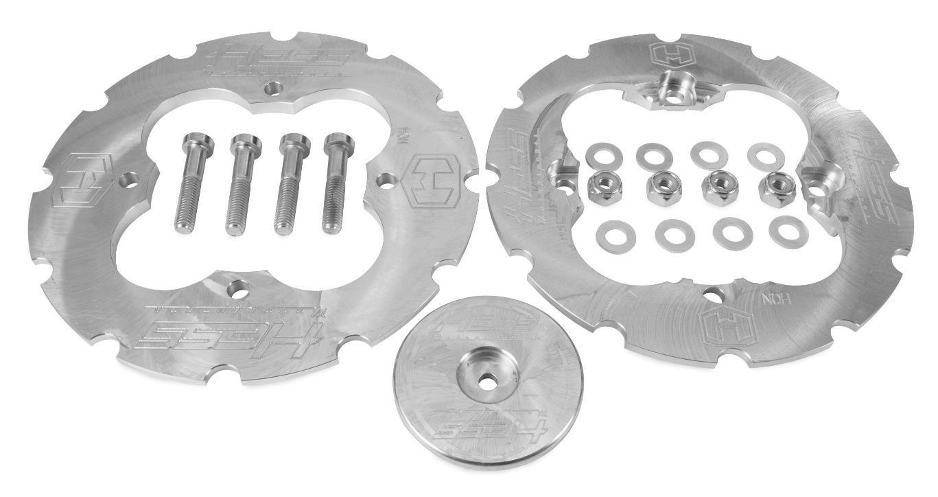 Hess Motorsports 204001 Dual Sprocket Guard with Teeth by Hess Motorsports (Image #1)