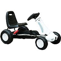 Homcom Go Kart Coche de Pedales Deportivo