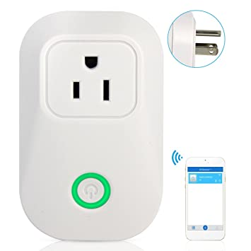 Independent Sonoff S20 Us Wifi Wireless Remote Control Socket Charging Adapter Smart Home Power Socket Smart Timer App Voice Control *10 Chargers Accessories & Parts