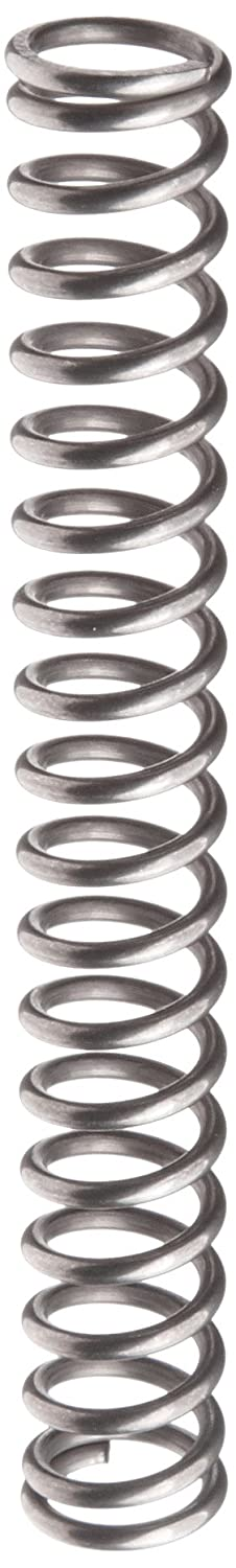 Music Wire Compression Spring Steel Metric 11.6 mm OD 1.6 mm Wire Size 37.9 mm Compressed Length 85 mm Free Length 169.66 N Load Capacity 3.61 N mm Spring Rate Pack of 10