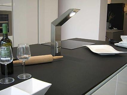 MaxxPort Arbeitsplatten - Beleuchtung mit Energiebox Edelstahl ...