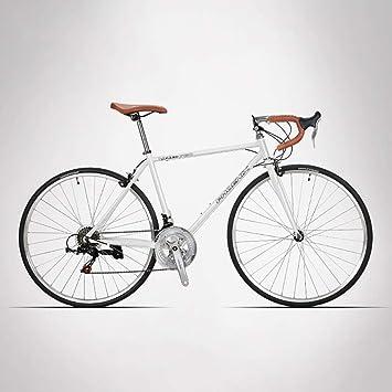 HECHEN Bicicleta de Carretera de 26 Pulgadas de Alto Cuadro de Acero al Carbono Carrera de Carretera de 14 velocidades para Adultos 700C - Bicicleta de Carretera para Hombres y Mujeres,Blue: Amazon.es: