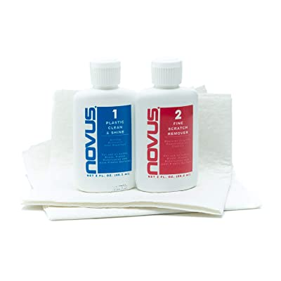 Novus 7055 2oz. Kit with #1 and #2: Automotive