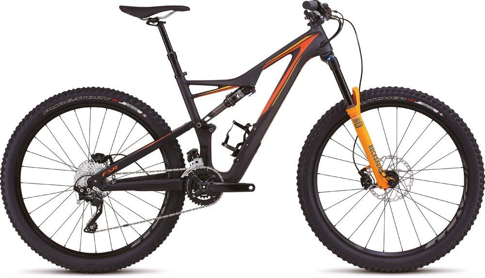 Specialized Stumpjumper FSR Comp Carbon 27.5\'\' MTB Fahrrad schwarz ...