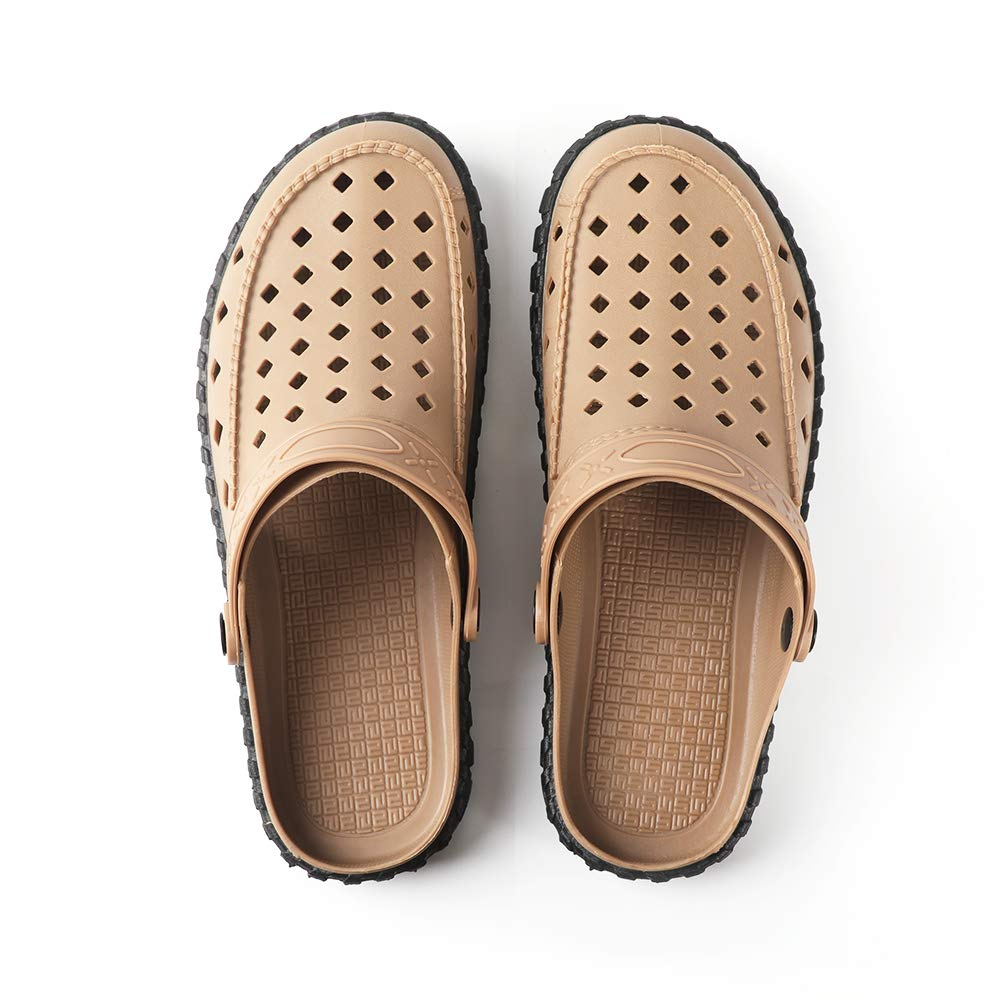 LUJI Men's Sport Sandals Outdoor Fisherman Sandals Closed Toe Summer Sandals