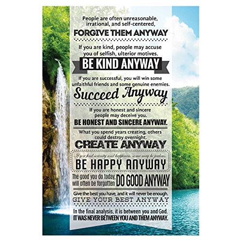 be kind anyway poster