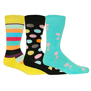 Happy Socks Men S 3 Pack Athletic Sports Socks Gift Pack Dots