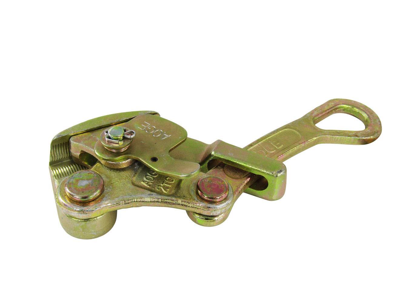 1 0.5T 1-10mm Draht-Grip Stahl Zugwerkzeug f/ür Drahtseil Kabelklemmen Draht Ziehgriff Handabzieher
