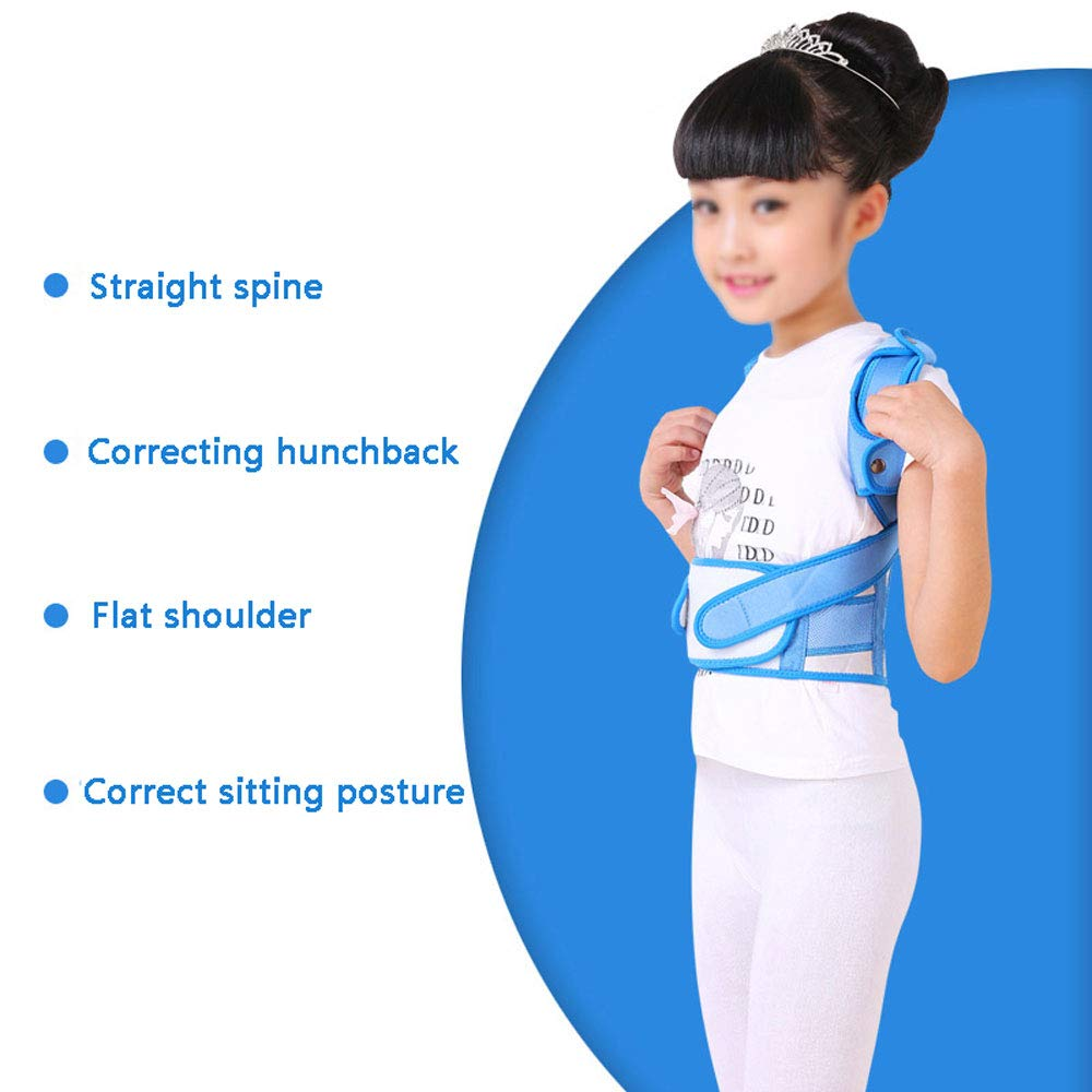 WBBJZBD Anti-Humpback Correction Belt, Child Student Spine Correction to Correct Hunchback Sitting Back Straight Back Anti-Humpback Correction Belt (Size : S (Waistline:54-64cm)) by WBBJZBD (Image #2)