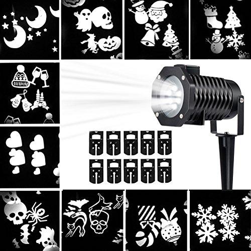 Outdoor Laser Lights White - 8
